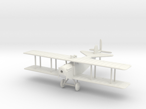1/144 Austin Ball AFB1 Straight Wing in White Natural Versatile Plastic