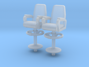 1:96 Captain/XO Navy Chair - Bridge/Wing in Smooth Fine Detail Plastic
