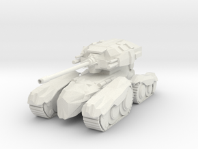 Moth M1 Tank in White Natural Versatile Plastic