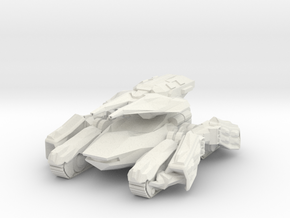 Crab C2 Heavy Artillery Tank in White Strong & Flexible