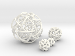 Five Simplest Poly-Twistors in White Strong & Flexible Polished