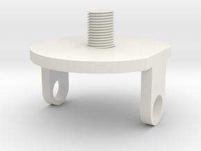 screw for universal in White Natural Versatile Plastic