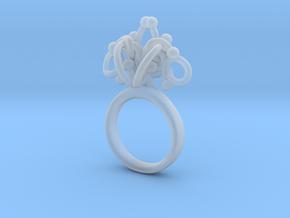 Sbosos 002 (7cm inner ring) in Smooth Fine Detail Plastic