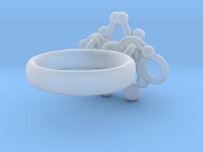 Sbosos 001 (7 cm inner ring) in Smooth Fine Detail Plastic