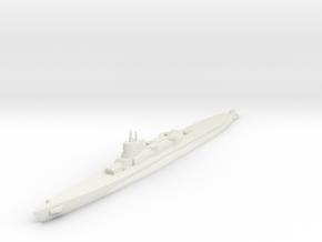 Bywater's Nagasaki Cruiser Submarine 1:1800 x1 in White Natural Versatile Plastic