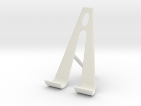 Nexus 7 tablet stand 2 in White Strong & Flexible