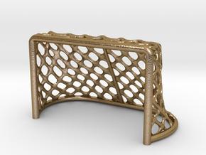 Hockey Net 6 inch in Polished Gold Steel