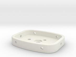 GoPro Iso Mount in White Natural Versatile Plastic