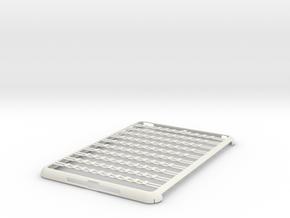 iPad Mini Abacus Case in White Natural Versatile Plastic