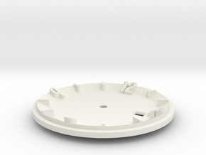 watch dial 1 in White Natural Versatile Plastic