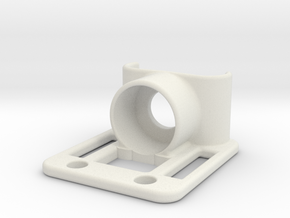 Z-bearing-mount in White Natural Versatile Plastic
