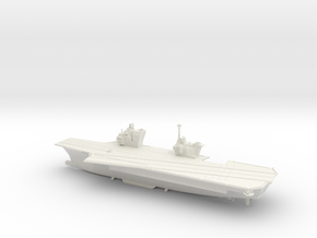 1/700 Future French Aircraft Carrier in White Natural Versatile Plastic