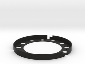 AE Filter Holder V5 in Black Natural Versatile Plastic