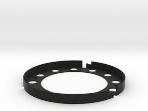 AE Filter Holder V5 in Black Natural Versatile Plastic