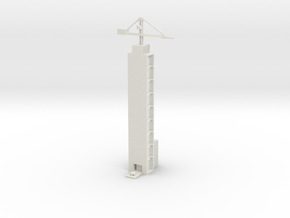1/700 Xichang Satellite Launch Center (Launch) in White Natural Versatile Plastic