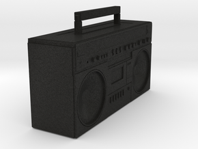 BOOMBOX in Black Acrylic