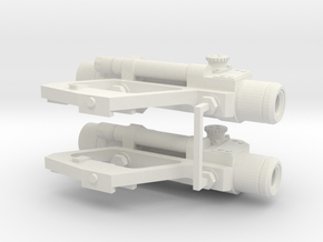 1:6 scale Russian PKS-07 Optic SIght Side Mounted  in White Natural Versatile Plastic