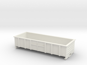 LC Wagon, New Zealand, (NZ120 / TT, 1:120) in White Strong & Flexible