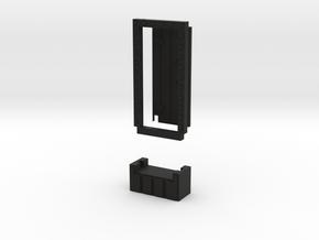 Basic 1x1 Door in Black Strong & Flexible