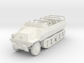 Vehicle- Type 1 Ho-Ha (1/87th) in White Strong & Flexible
