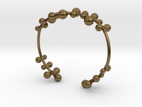 Twisttwig bracelet in Natural Bronze