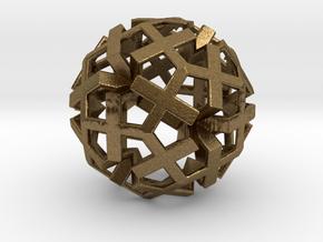 Fractal geometrie  GF17 in Natural Bronze