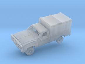 M1008 CUCV w/Tarp in Smooth Fine Detail Plastic: 1:144