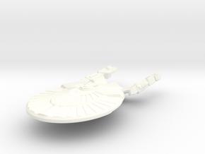 USS Topeka in White Processed Versatile Plastic