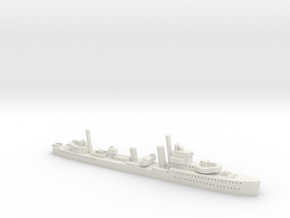 HMCS Saguenay (I79) Post Refit (River Class) 1/180 in White Natural Versatile Plastic