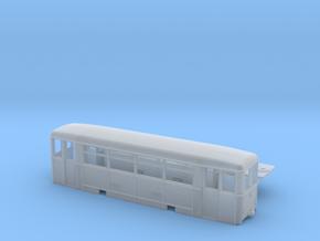 Aufbaubeiwagen (Werdauer BW) Spur H0m (1:87) in Smooth Fine Detail Plastic