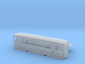 Aufbaubeiwagen (Werdauer BW) Spur TTm (1:120) in Smooth Fine Detail Plastic