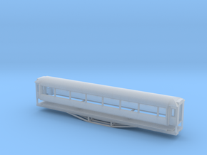 AO Carriage, New Zealand, (NZ120 / TT, 1:120) in Smooth Fine Detail Plastic