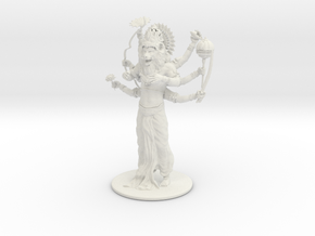 NrsReady 4 3D Print09 160mm High in White Natural Versatile Plastic