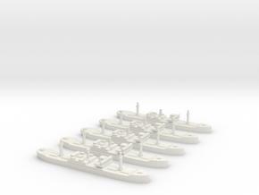 SS City of Flint (Hog Islander) 1/1800 x5 in White Natural Versatile Plastic
