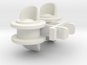 Rokenbok Signal Light in White Natural Versatile Plastic