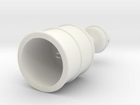 Rokenbok Oil Change Pan in White Natural Versatile Plastic