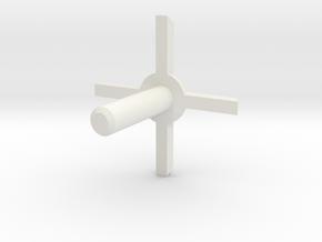 MBPI-A751-QUA2 in White Natural Versatile Plastic