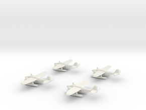 He-115 (1/700) x4 in White Natural Versatile Plastic