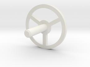 MBPI-A751-TRI in White Natural Versatile Plastic