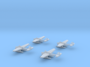 He-115 (1/700) x4 in Smooth Fine Detail Plastic