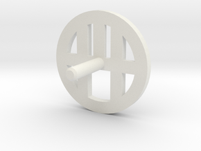 MBPI-A13-MTM in White Natural Versatile Plastic