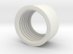 MBPI-B11-ZRO in White Natural Versatile Plastic