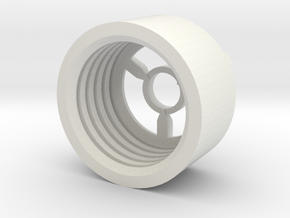MBPI-B11-TRO in White Natural Versatile Plastic