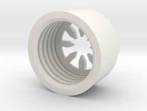 MBPI-B11-OCT in White Natural Versatile Plastic