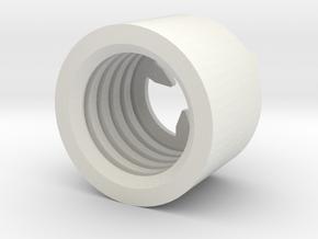 MBPI-B751-TRI in White Natural Versatile Plastic