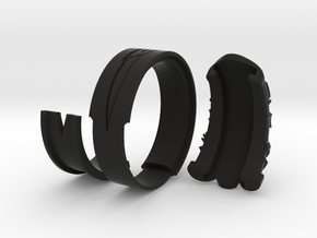 Vambrace Ring 10 in Black Strong & Flexible