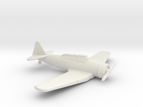 1:144 T6 TEXAN  in White Natural Versatile Plastic