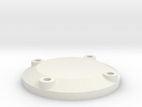 Belt Plaque 13 in White Natural Versatile Plastic