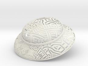 XD1543-grid600-iso60-firma in White Natural Versatile Plastic