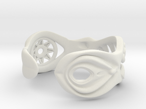 Bracelet of Lust in White Natural Versatile Plastic